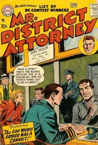 Cover Thumbnail for Mr. District Attorney (DC, 1948 series) #57