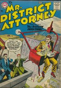 Cover Thumbnail for Mr. District Attorney (DC, 1948 series) #60