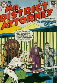 Cover Thumbnail for Mr. District Attorney (DC, 1948 series) #61