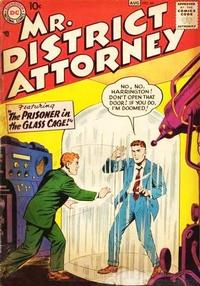 Cover Thumbnail for Mr. District Attorney (DC, 1948 series) #64