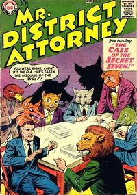Cover Thumbnail for Mr. District Attorney (DC, 1948 series) #66