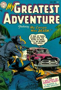 Cover Thumbnail for My Greatest Adventure (DC, 1955 series) #1