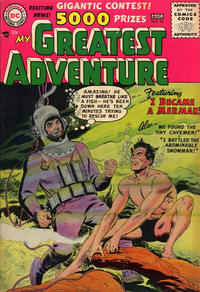 Cover Thumbnail for My Greatest Adventure (DC, 1955 series) #10