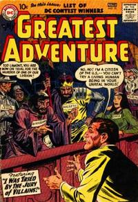 Cover Thumbnail for My Greatest Adventure (DC, 1955 series) #15