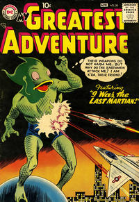 Cover Thumbnail for My Greatest Adventure (DC, 1955 series) #20