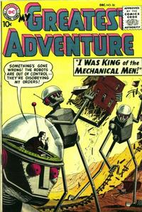 Cover Thumbnail for My Greatest Adventure (DC, 1955 series) #26
