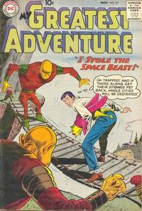 Cover Thumbnail for My Greatest Adventure (DC, 1955 series) #37