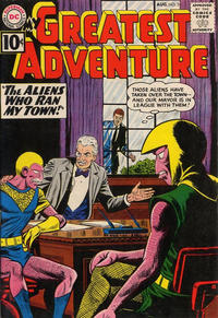 Cover Thumbnail for My Greatest Adventure (DC, 1955 series) #58