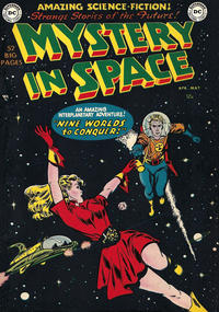 Cover Thumbnail for Mystery in Space (DC, 1951 series) #1