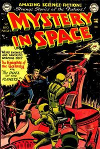 Cover for Mystery in Space (DC, 1951 series) #3
