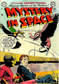 Cover Thumbnail for Mystery in Space (DC, 1951 series) #7