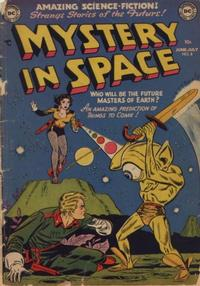 Cover Thumbnail for Mystery in Space (DC, 1951 series) #8