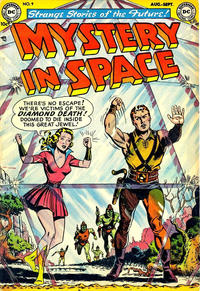 Cover Thumbnail for Mystery in Space (DC, 1951 series) #9
