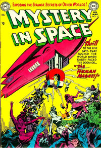 Cover Thumbnail for Mystery in Space (DC, 1951 series) #12