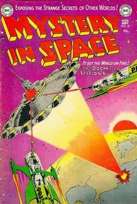 Cover Thumbnail for Mystery in Space (DC, 1951 series) #15