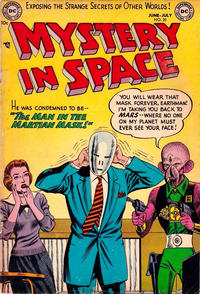 Cover Thumbnail for Mystery in Space (DC, 1951 series) #20
