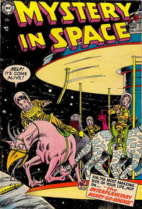 Cover Thumbnail for Mystery in Space (DC, 1951 series) #21