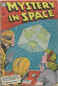 Cover Thumbnail for Mystery in Space (DC, 1951 series) #22