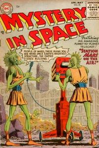 Cover Thumbnail for Mystery in Space (DC, 1951 series) #25