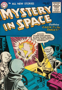 Cover Thumbnail for Mystery in Space (DC, 1951 series) #26