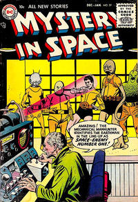 Cover Thumbnail for Mystery in Space (DC, 1951 series) #29