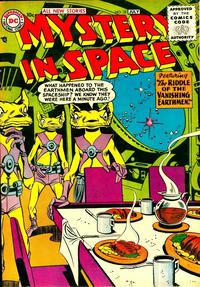 Cover Thumbnail for Mystery in Space (DC, 1951 series) #32