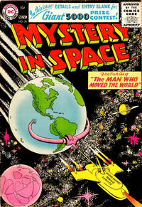 Cover Thumbnail for Mystery in Space (DC, 1951 series) #34