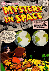 Cover Thumbnail for Mystery in Space (DC, 1951 series) #35