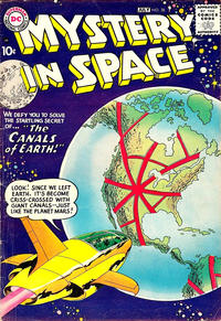 Cover Thumbnail for Mystery in Space (DC, 1951 series) #38
