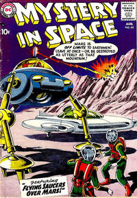 Cover Thumbnail for Mystery in Space (DC, 1951 series) #45