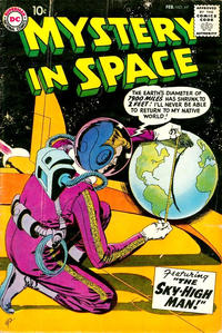 Cover Thumbnail for Mystery in Space (DC, 1951 series) #49