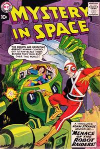 Cover Thumbnail for Mystery in Space (DC, 1951 series) #53