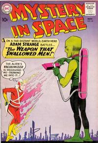 Cover Thumbnail for Mystery in Space (DC, 1951 series) #63
