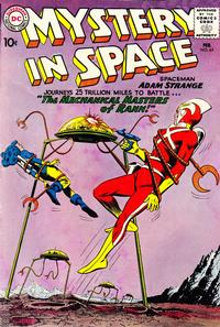 Cover Thumbnail for Mystery in Space (DC, 1951 series) #65