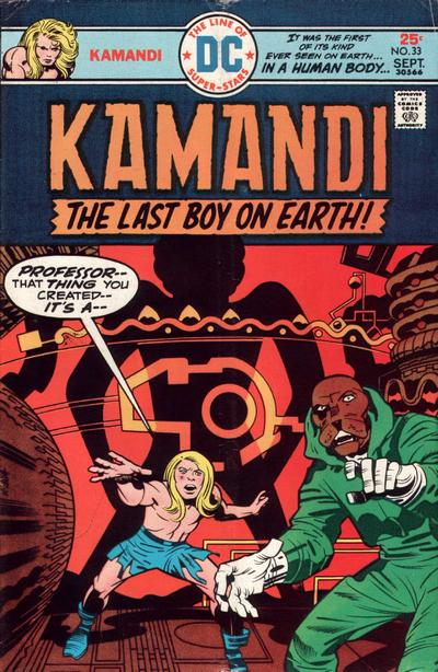 Cover for Kamandi, The Last Boy on Earth (DC, 1972 series) #33