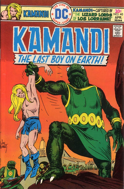 Cover for Kamandi, The Last Boy on Earth (DC, 1972 series) #40