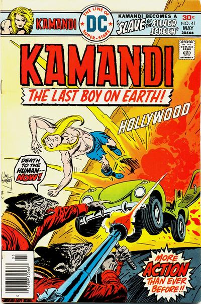 Cover for Kamandi, The Last Boy on Earth (DC, 1972 series) #41
