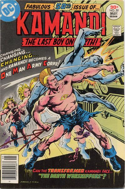 Cover for Kamandi, The Last Boy on Earth (DC, 1972 series) #50