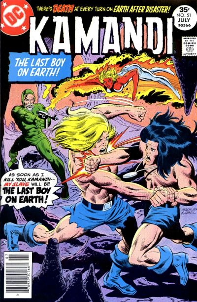 Cover for Kamandi, The Last Boy on Earth (DC, 1972 series) #51