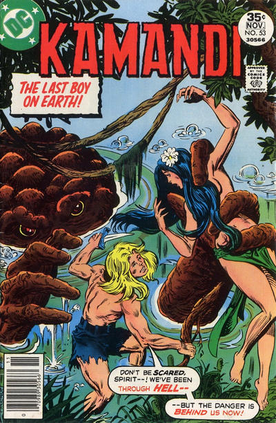 Cover for Kamandi, The Last Boy on Earth (DC, 1972 series) #53