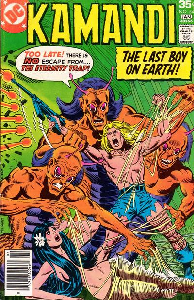 Cover for Kamandi, The Last Boy on Earth (DC, 1972 series) #54