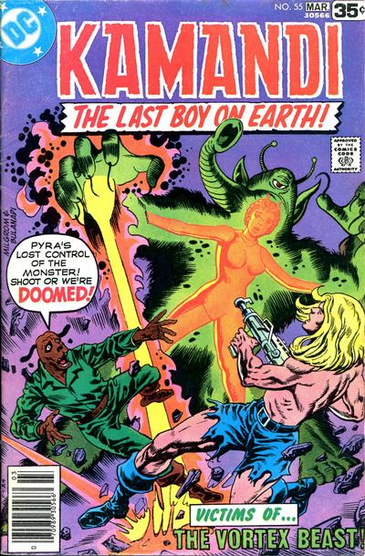 Cover for Kamandi, The Last Boy on Earth (DC, 1972 series) #55