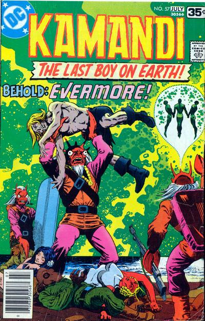 Cover for Kamandi, The Last Boy on Earth (DC, 1972 series) #57