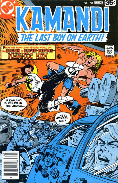 Cover for Kamandi, The Last Boy on Earth (DC, 1972 series) #58