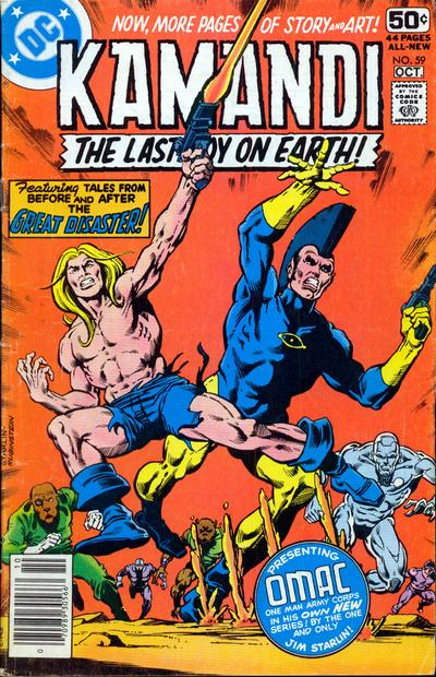 Cover for Kamandi, The Last Boy on Earth (DC, 1972 series) #59