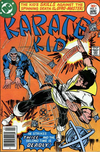 Cover for Karate Kid (DC, 1976 series) #7
