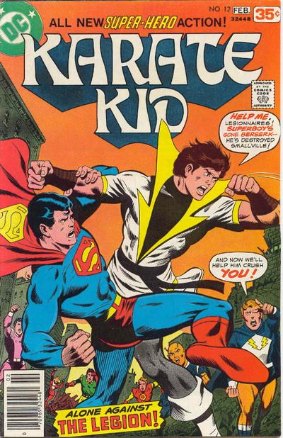 Cover for Karate Kid (DC, 1976 series) #12
