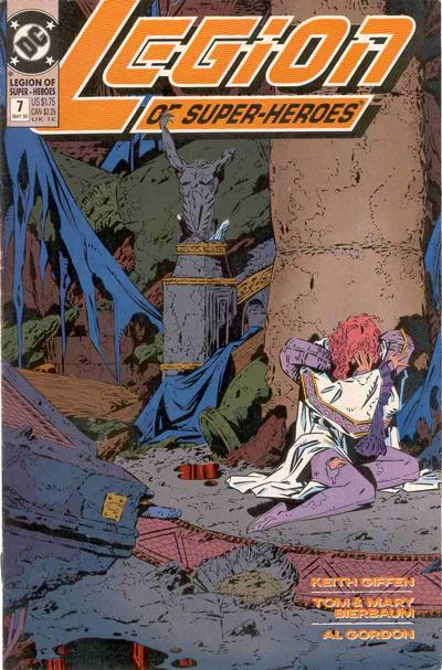 Cover for Legion of Super-Heroes (DC, 1989 series) #7