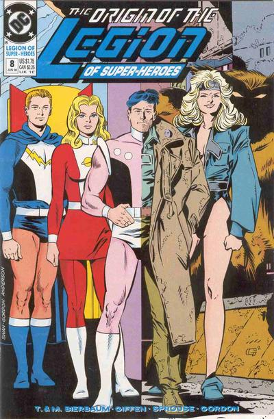 Cover for Legion of Super-Heroes (DC, 1989 series) #8