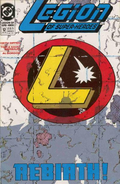 Cover for Legion of Super-Heroes (DC, 1989 series) #12